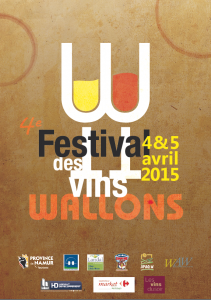 festival des vins wallons